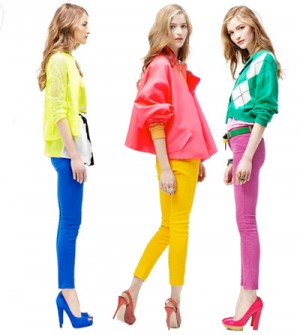 комплекты color blocking в двух цветах