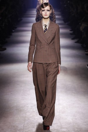 клетка в луке Dries Van Noten